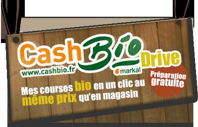 Supermarché en ligne spécialisé bio Cashbio Markal