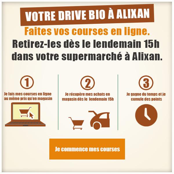 Cashbio Drive, votre drive bio à Alixan